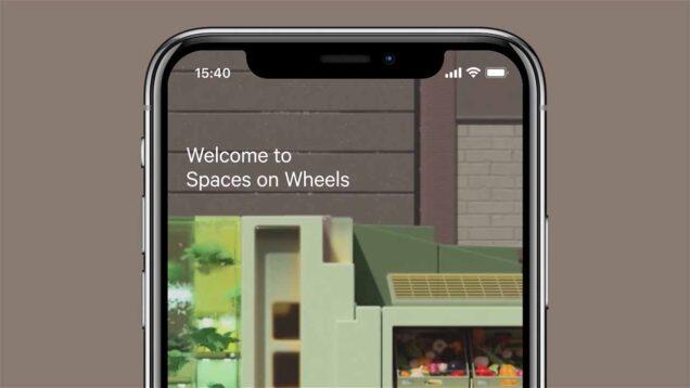 Spaces on Wheels